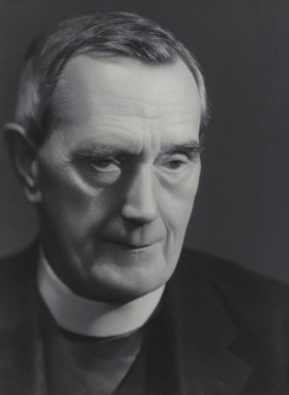 William Ralph Inge, by Bassano Ltd, 6 June 1939 - NPG x83641 - © National Portrait Gallery, London