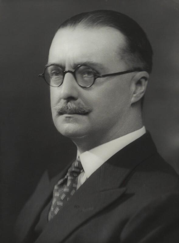 Sir Wilfrid Edward Francis Jackson, by Bassano Ltd, 24 September 1937 - NPG x83649 - © National Portrait Gallery, London