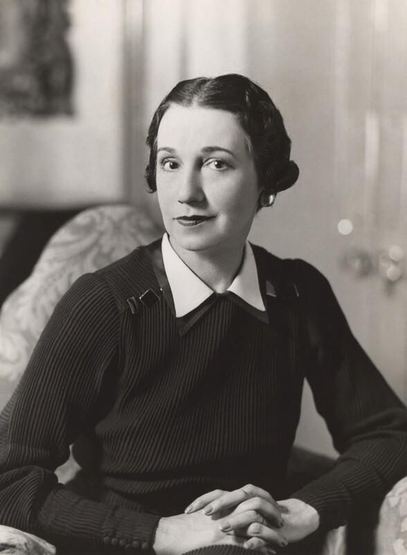 Mrs Rex Anderson, by Bassano Ltd, April 1937 - NPG x83653 - © National Portrait Gallery, London