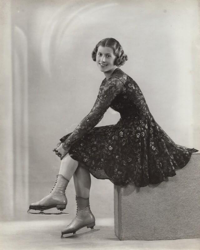 Cecilia Colledge, by Bassano Ltd, 25 February 1936 - NPG x83659 - © National Portrait Gallery, London
