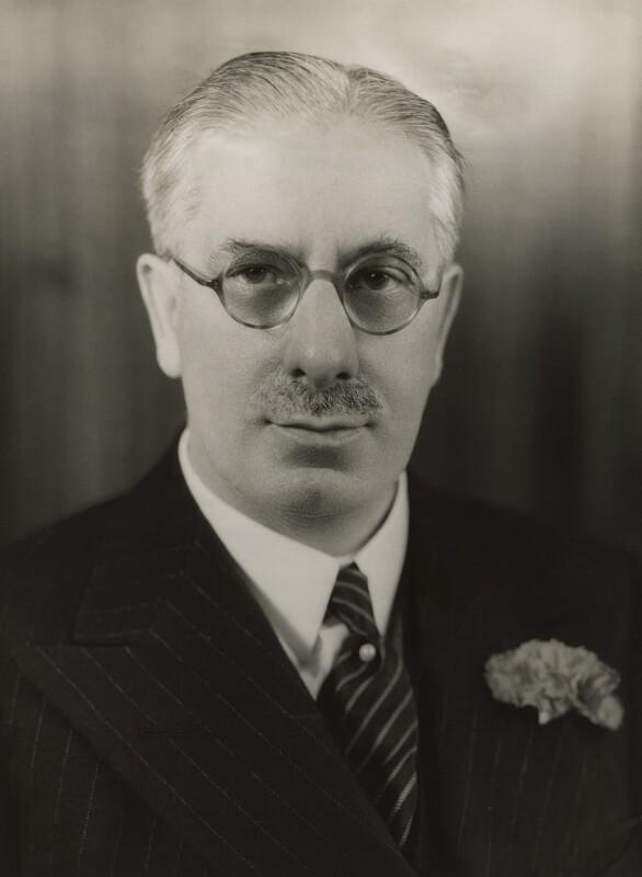 (James) Gomer Berry, 1st Viscount Kemsley, by Bassano Ltd, December 1938 - NPG x83680 - © National Portrait Gallery, London
