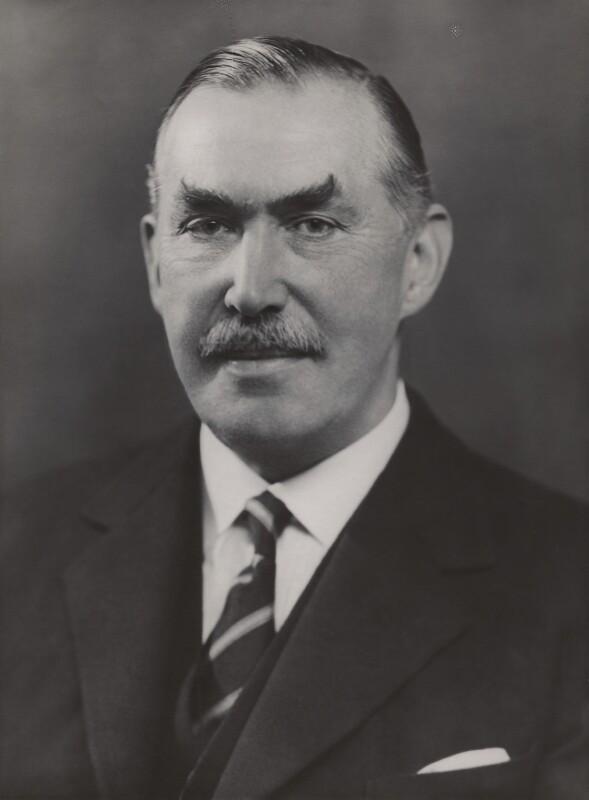 Robert Molesworth Kindersley, 1st Baron Kindersley, by Bassano Ltd, 14 October 1936 - NPG x83685 - © National Portrait Gallery, London
