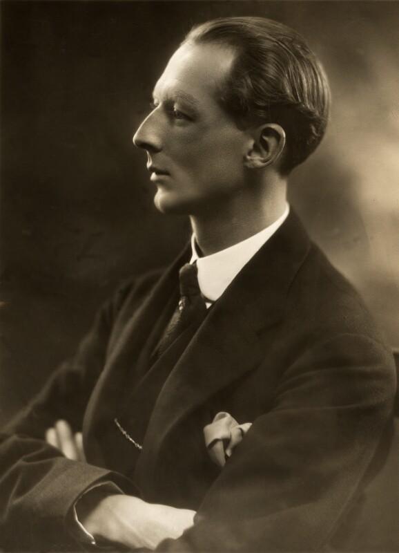 Evan Frederic Morgan, 2nd Viscount Tredegar, by Bassano Ltd, 8 November 1923 - NPG x83794 - © National Portrait Gallery, London