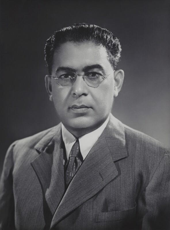 Sir Firoz Khan Noon, by Bassano Ltd, 1944 - NPG x83858 - © National Portrait Gallery, London