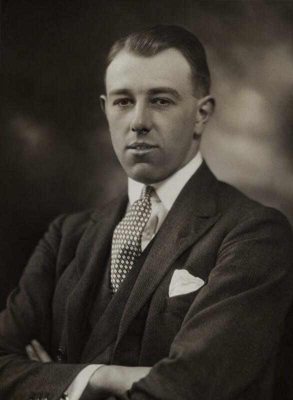 David Ludovic George Hopetoun Carnegie, 11th Earl of Northesk, by Bassano Ltd, 24 March 1923 - NPG x83868 - © National Portrait Gallery, London