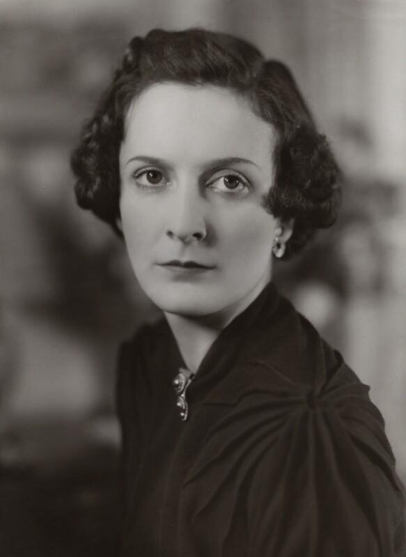 Anne Geraldine Fleming, by Bassano Ltd, October 1937 - NPG x83901 - © National Portrait Gallery, London