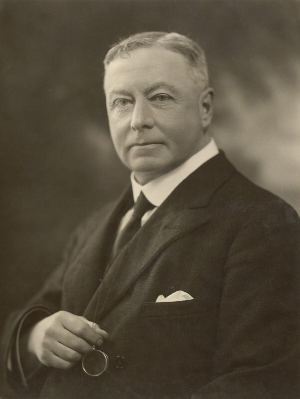 Sir George Stewart Abram, by Bassano Ltd, 10 April 1922 - NPG x83913 - © National Portrait Gallery, London