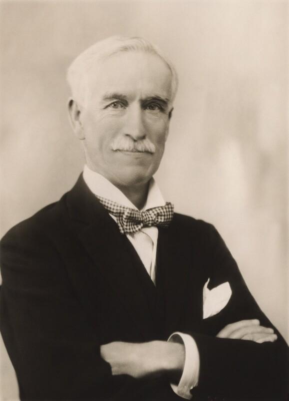 Sir Charles Stewart Addis, by Bassano Ltd, 11 April 1930 - NPG x83915 - © National Portrait Gallery, London