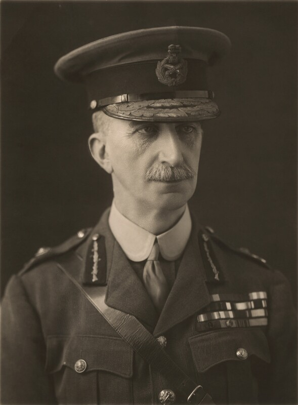 Sir John Adye, by Bassano Ltd, 15 January 1920 - NPG x83916 - © National Portrait Gallery, London