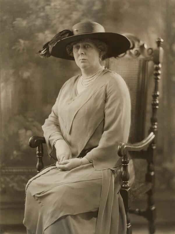 Gertrude Lucia (née Egerton), Countess of Albemarle, by Bassano Ltd, 28 July 1922 - NPG x83922 - © National Portrait Gallery, London
