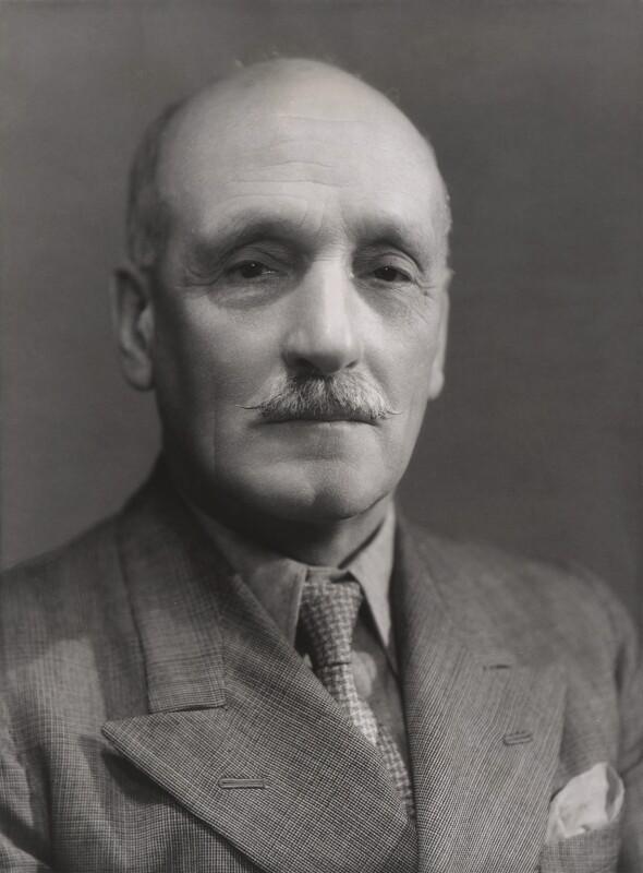 Charles George Ammon, 1st Baron Ammon, by Bassano Ltd, 13 September 1939 - NPG x83924 - © National Portrait Gallery, London