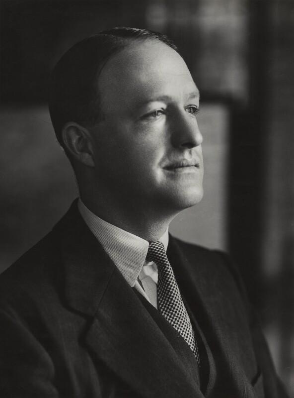 Richard Austen ('Rab') Butler, 1st Baron Butler of Saffron Walden, by Bassano Ltd, 9 July 1937 - NPG x83985 - © National Portrait Gallery, London