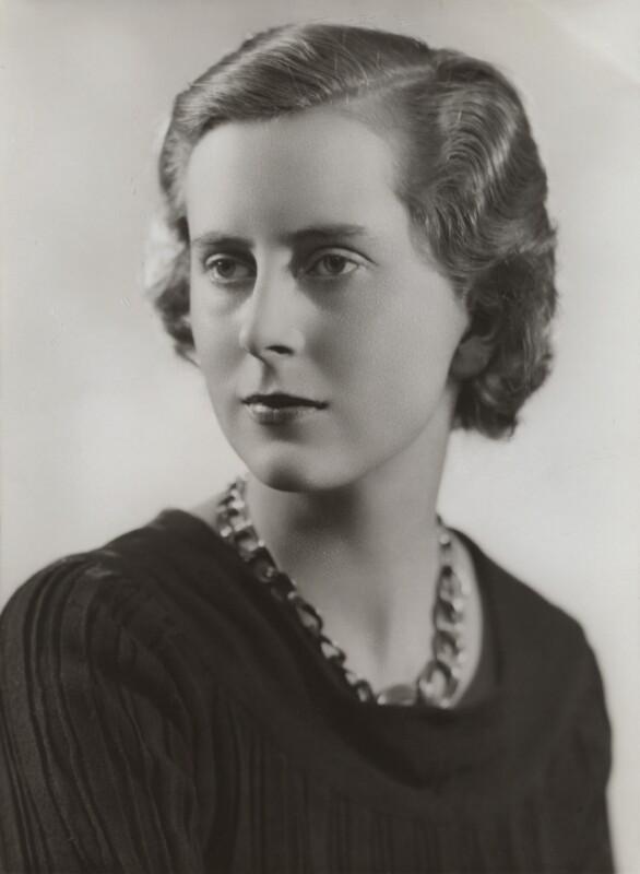 Hon. Janet Hampden Buchanan (née Margesson), by Bassano Ltd, March 1936 - NPG x84005 - © National Portrait Gallery, London