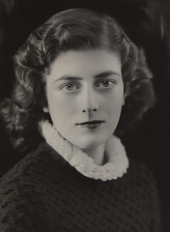 Sarah Churchill, by Bassano Ltd, 1935 - NPG x84051 - © National Portrait Gallery, London