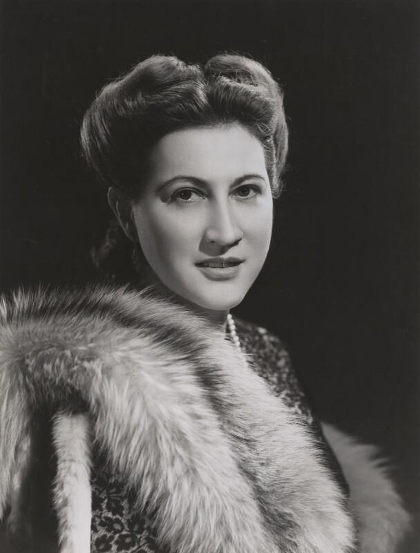 Emilia Arciniegas Castilla, by Bassano Ltd, 1946 - NPG x84159 - © National Portrait Gallery, London
