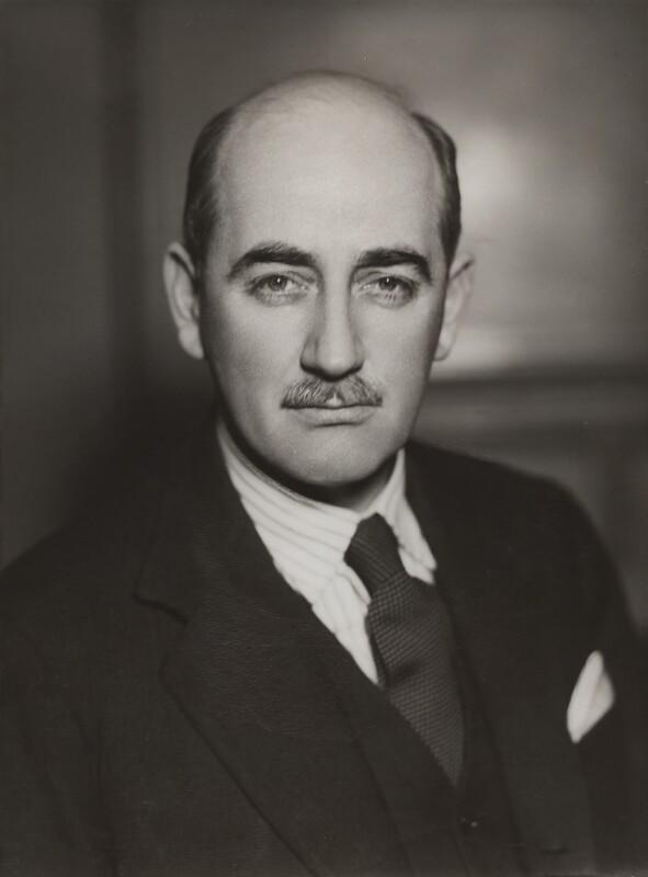 Sir (David) Emrys Evans, by Bassano Ltd, 9 March 1942 - NPG x84178 - © National Portrait Gallery, London