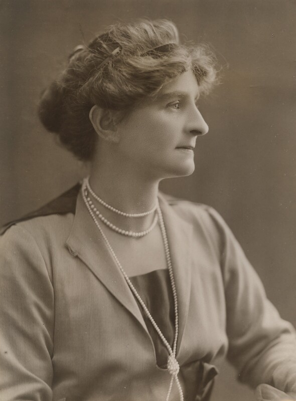 Margaret (née Scott), Lady Fripp, by Bassano Ltd, 1919 - NPG x84206 - © National Portrait Gallery, London