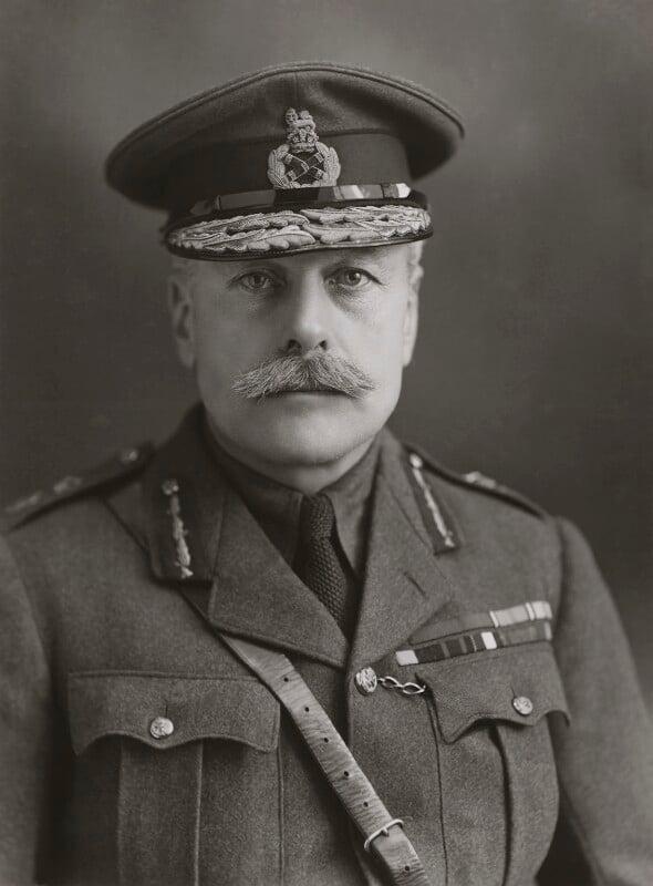Douglas Haig, 1st Earl Haig, by Bassano Ltd, 16 January 1917 - NPG x84291 - © National Portrait Gallery, London
