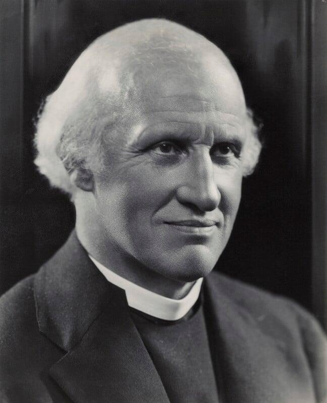 Hewlett Johnson, by Bassano Ltd, 1938 - NPG x84349 - © National Portrait Gallery, London