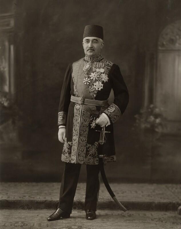 Daroud Khan, by Bassano Ltd, 31 May 1923 - NPG x84403 - © National Portrait Gallery, London