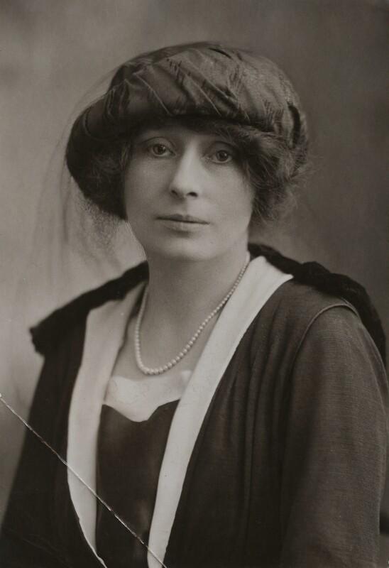 Rachel Mary Parsons, by Bassano Ltd, 1919 - NPG x84433 - © National Portrait Gallery, London