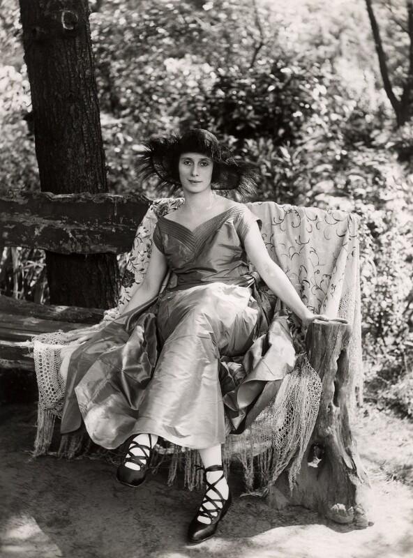 Anna Pavlova, by Bassano Ltd, 28 June 1920 - NPG x84447 - © National Portrait Gallery, London