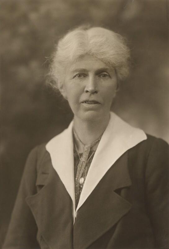 Marjorie Gammell Pease, by Bassano Ltd, 1922 - NPG x84451 - © National Portrait Gallery, London