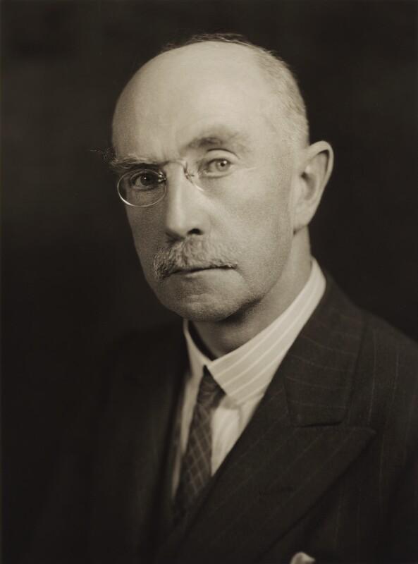 Sir (William) Arthur Robinson, by Bassano Ltd, 31 July 1935 - NPG x84594 - © National Portrait Gallery, London