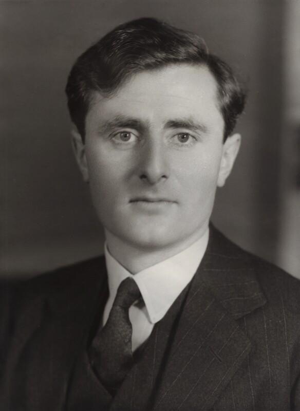 Jasper St John Rootham, by Bassano Ltd, 19 October 1938 - NPG x84621 - © National Portrait Gallery, London