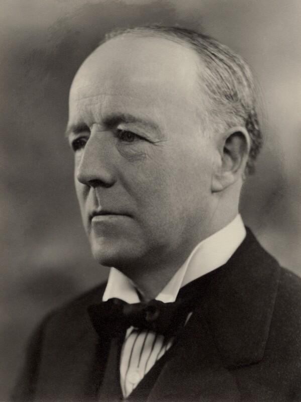 Walter Runciman, 1st Viscount Runciman of Doxford, by Bassano Ltd, 12 March 1935 - NPG x84641 - © National Portrait Gallery, London