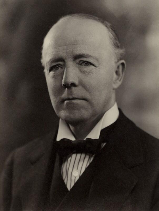 Walter Runciman, 1st Viscount Runciman of Doxford, by Bassano Ltd, 12 March 1935 - NPG x84643 - © National Portrait Gallery, London