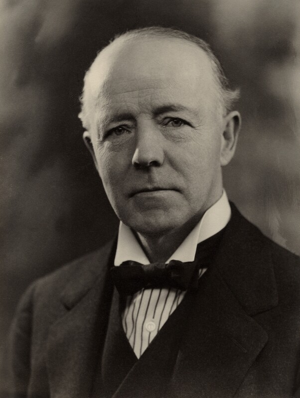 Walter Runciman, 1st Viscount Runciman of Doxford, by Bassano Ltd, 12 March 1935 - NPG x84645 - © National Portrait Gallery, London