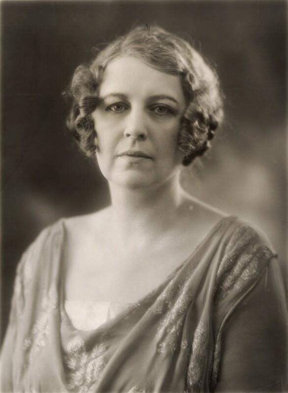 Constance Sibell Ashley-Cooper (née Grosvenor), Countess of Shaftesbury, by Bassano Ltd, 1923 - NPG x84724 - © National Portrait Gallery, London