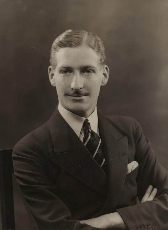 John George Charles Henry Alton Alexander Chetwynd-Talbot, 21st Earl of Shrewsbury, by Bassano Ltd, 4 December 1935 - NPG x84756 - © National Portrait Gallery, London