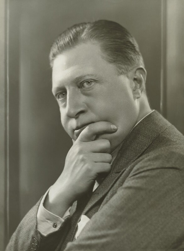 Sir Osbert Sitwell, by Bassano Ltd, 29 September 1933 - NPG x84787 - © National Portrait Gallery, London