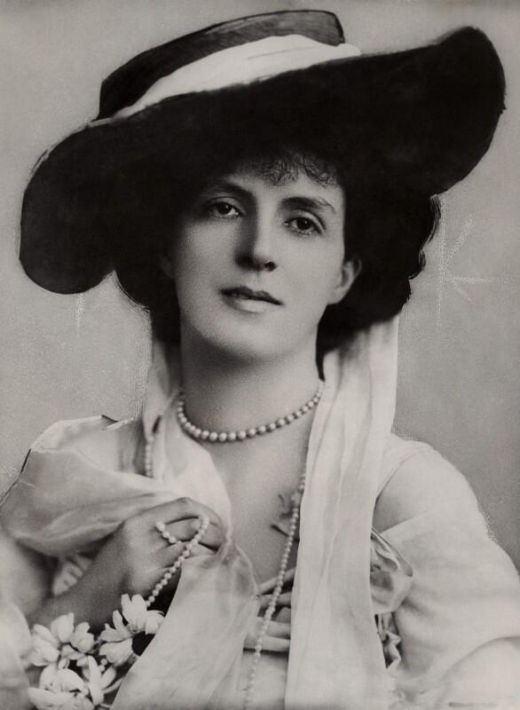 Lady Ida Emily Augusta Sitwell (née Denison), by Bassano Ltd, 1904 - NPG x84790 - © National Portrait Gallery, London