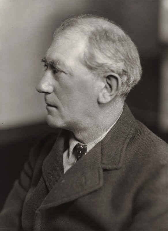 Sir John Collings Squire, by Bassano Ltd, 10 October 1935 - NPG x84838 - © National Portrait Gallery, London