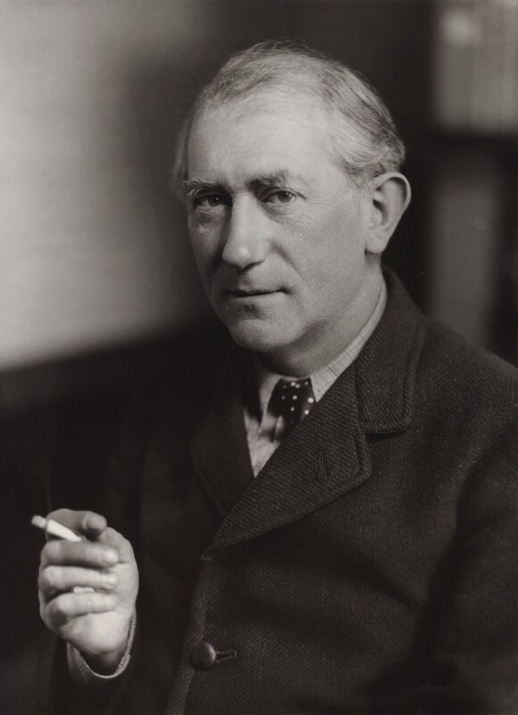 Sir John Collings Squire, by Bassano Ltd, 10 October 1935 - NPG x84839 - © National Portrait Gallery, London