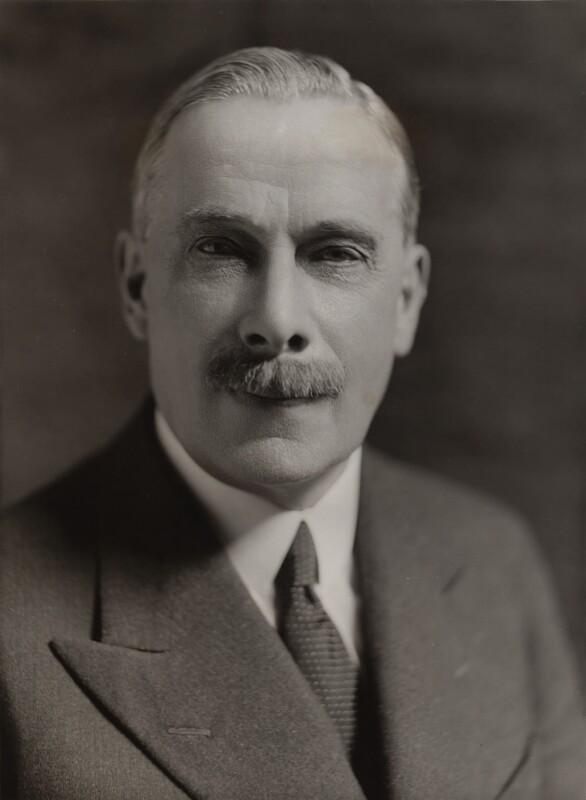 George Clement Tryon, 1st Baron Tryon, by Bassano Ltd, 27 June 1935 - NPG x84930 - © National Portrait Gallery, London