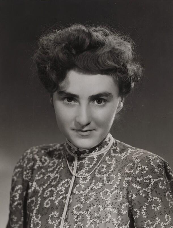 Elizabeth Erskine Trip (née Ogilvie), by Bassano Ltd, 1946 - NPG x84933 - © National Portrait Gallery, London