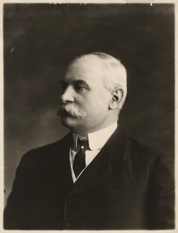 Sir Frederick Treves, 1st Bt, by Bassano Ltd, circa 1911 - NPG x84938 - © National Portrait Gallery, London