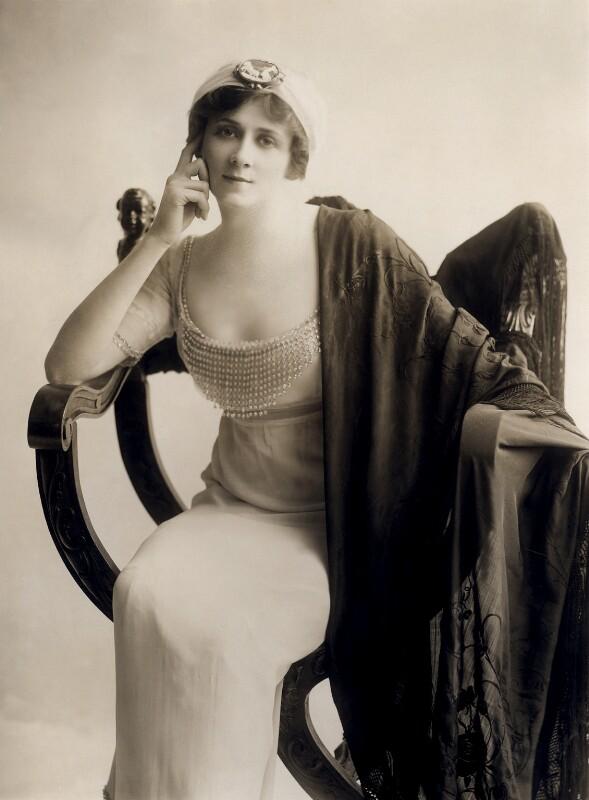 Valli Valli (née Valli Knust), by Bassano Ltd, 1912 - NPG x84963 - © National Portrait Gallery, London