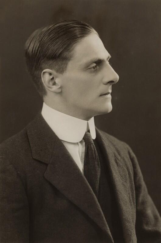 William Edward Vickers, by Bassano Ltd, 1921 - NPG x84976 - © National Portrait Gallery, London