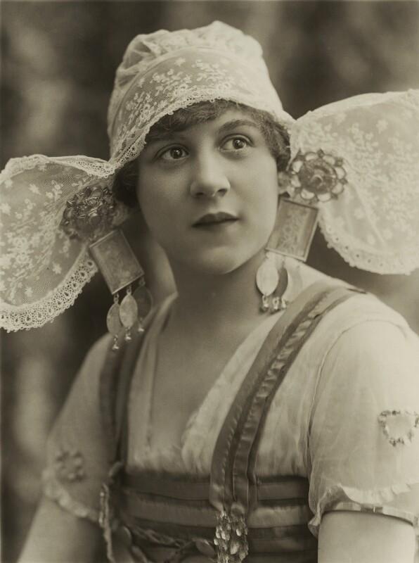 Mona Vivian, by Bassano Ltd, 4 April 1919 - NPG x84984 - © National Portrait Gallery, London