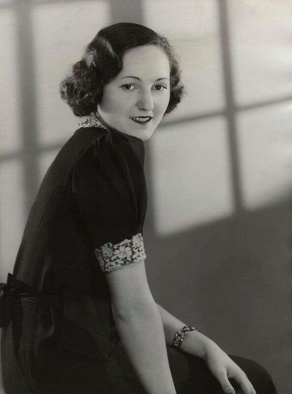 Tatiana Rosemary de Bolotoff Wiasemsky, by Bassano Ltd, 3 January 1938 - NPG x85023 - © National Portrait Gallery, London