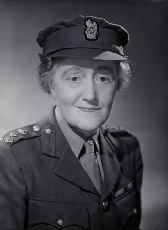 Dame Louisa Jane Wilkinson, by Bassano Ltd, August 1944 - NPG x85044 - © National Portrait Gallery, London