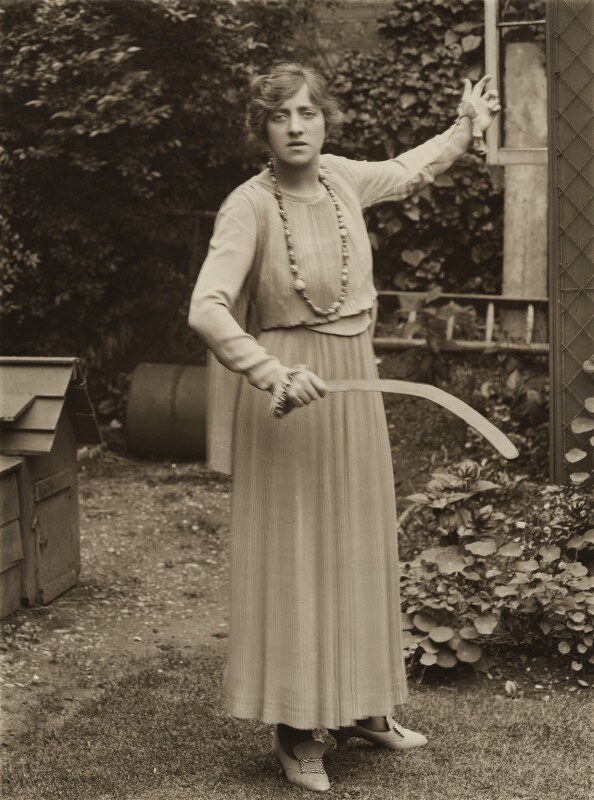 Violet Loraine, by Bassano Ltd, 1917 - NPG x85191 - © National Portrait Gallery, London