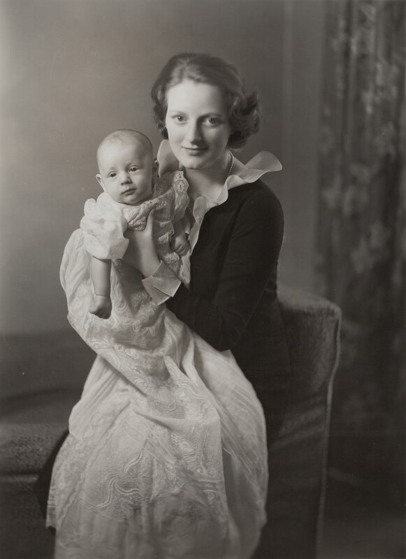 Julian George Winston Sandys; Diana Churchill (Mrs Bailey, later Mrs Sandys), by Bassano Ltd, December 1937 - NPG x85227 - © National Portrait Gallery, London