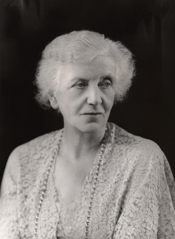 Lena Ashwell (née Lena Margaret Pocock, later Lady Simson), by Bassano Ltd, 24 July 1936 - NPG x85235 - © National Portrait Gallery, London