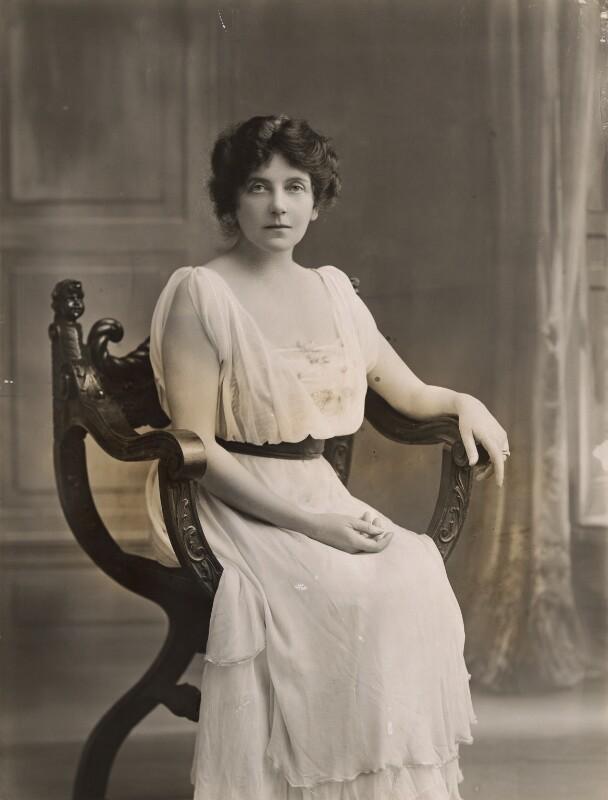 Lena Ashwell (née Lena Margaret Pocock, later Lady Simson), by Bassano Ltd, 1916 - NPG x85238 - © National Portrait Gallery, London